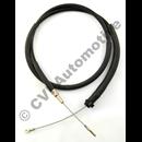 Handbrake cable 164 '75, 240/260 75-93  (GEMO/Volvo)