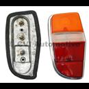 Taillamp (complete) 140/164 -71, LH (Volvo/Hella genuine)
