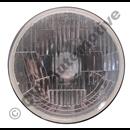 H4 insats platt glas, RHD/Vä-trafik (R) (OBS! Vänstertrafik typ England)
