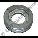 Adj screw steering-rack 200 75-78 w/o PS (for steering-rack 1221905)