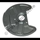 Brake backplate front 700 '82-'87