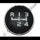 Symbol strip on gear lever 240 M45 79-85
