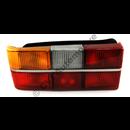 Taillamp 240 79-84 chrome trim LH(w/o fog light)  NB! 6 bulb