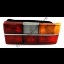 Taillamp 240 79-84 chrome trim RH(w/o fog light)  NB! 6 bulb
