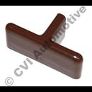 Handle inner on tailgate, 245 (brown)