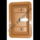 Guide casing tailgate opener (inside) 245 (beige)