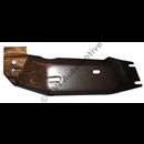 Heat shield under exhaust 240
