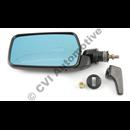 Door mirror 200 LHD 80-85 manuell, LH (convex, not USA/Can/Japan)