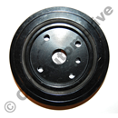 Pulley with vibration damper 149.5 mm (850, S/V70 -00, S/V40 -04)