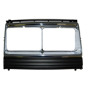 Frame twin quad h/lamp USA RH (type WITHOUT reflector)