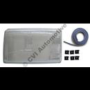 H/lamp glass (OE), 240 LHD 1981- LH (NB! For RH traffic)
