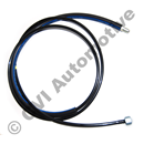 Fuel feed pipe tank-engine 240 (79-92) RHD (fuel injected cars)