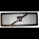 Grill, svart med svart ram 240 '86-'93 (Volvo original med emblem)