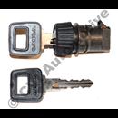 Glove box lock, 240 '86-'89