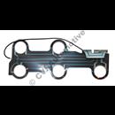 Circuit board, 700 rear LH (cars w/o foglamp)