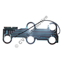 Circuit board, 700 rear RH (cars w/o foglamp)