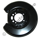 Brake backplate rear, 700/900 (1982-1998, not Multi-Link)