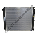 Radiator, 240/740/940 manual +7/940 w/o A/C '85- (460 mm)