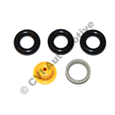 Fuel injector seal set (4-cyl), B23F/B23ET/FT, B200F/FT/B230F/FT/GT