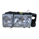 Headlamp 760 86-90, 900 91-94 USA LH (Volvo OE - incls fog lamp)