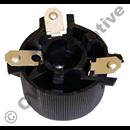 Lamphållare svart 200/700/900 Vä (1/bil på sedan, 1/bil kombi)