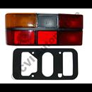 Taillamp 242/244 79-89, LH (with black trim)
