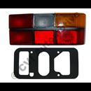 Taillamp 242/244 79-89, RH (with black trim)