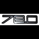 Emblem 780, på baklucka