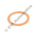 Gasket (single type) for valve