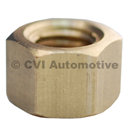 Brass nut for pin studs, for Volvo B16 engine