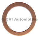 Copper gasket for oil drain plug 190798 or 948187
