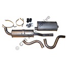 Exhaust 1/2 kit 900 not turbo (for cars w catalytic convs.)