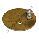 Throttle disc SU HIF B19A/B21A (for carburettors 237660, 237703, 237705)