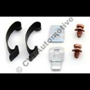 Holddown spring set distributor cap