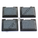 Brake pad set rear 1800/140/164 +240/260 Girling
