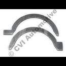 Thrust washer kit for 55 mm main bearings, Volvo 240/740