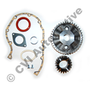Timing gear set B18/B20/B30A (NB! Aluminium gears)