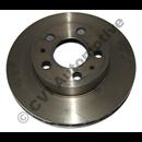 Brake disc front 240 ATE vent'd 75-78