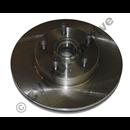 "Brake disc front 700 82-87 (14"" Gir/DBA vent'd w hub)"