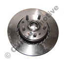 "Brake disc front 700 Girling/Bendix 82-87 (15""/287 mm ventilated with hub)"