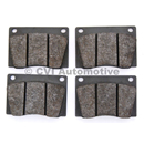 Brake pad set, Amazon/P1800 (B18)( for 2 front wheels)