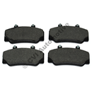 Brake pads front, 700/900 (DBA/Bendix) (1982-1998)