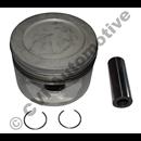 Kolv +0,6 mm B230F/FB/FD/FS, AQ125B, AQ131/145B/230A/B  (MAHLE)