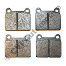 Brake pads rear 7/8/900 -98 + S70/V70 -00 anti squeek
