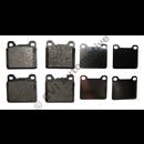 Brake pads rear 850 AWD, 700/900 multi-link (31261186)