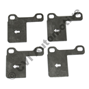 Anti-vibration kit rear brake pads, 850 +S70/V70 97-00
