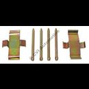 Monteringssats klossar fram ATE (ventilerad skiva - 140/164/200 '69-'78)