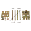 Fitting kit rear pads, Girling (140/164/1800E/ES/240 '67-'93)
