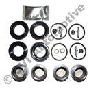 Overhaul kit 1 front caliper 240 Girling 76-93 (seals+pistons+grease)
