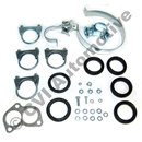 Exhaust fit kit, 140E/F -'73 +164 B30/B30A